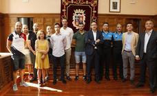 Nuevos bomberos y policias locales en Palencia