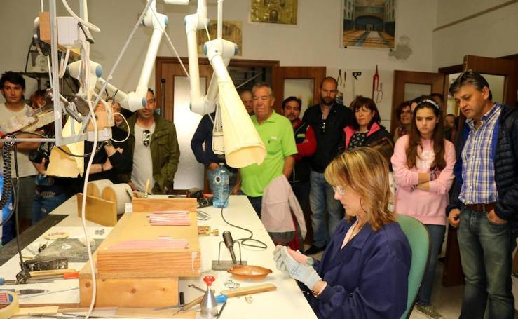 Visita al taller de organería Acitores de Torquemada