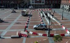 Las cuatro catas arqueológicas marcarán el futuro del aparcamiento de la Plaza Mayor