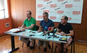 CCOO reclama a la Junta un cambio de modelo de gestión forestal y de extinción de incendios