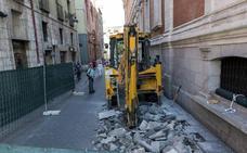 Saravia prevé que las catas arqueológicas en la Plaza Mayor de Valladolid duren «en torno a 15 días»