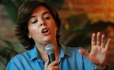 Santamaría insistirá «hasta el final» en la lista de unidad pese al desdén de su rival