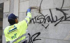 Detenidos varios grafiteros que actuaron en Salamanca y otras ciudades de forma itinerante