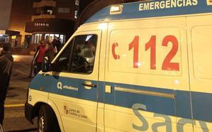 Dos heridos leves en un accidente en la Ronda Este de Valladolid