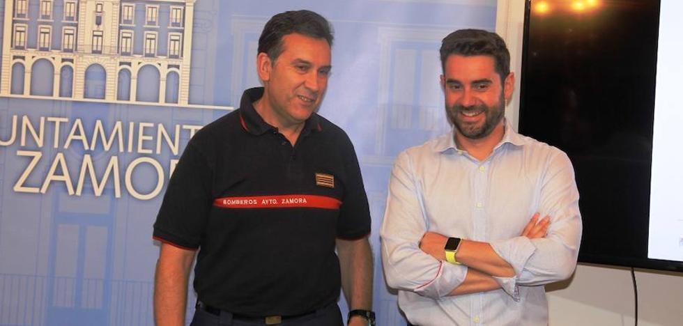 Los bomberos de Zamora realizan 888 intervenciones en el año 2017
