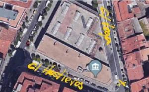La calle Vega de Valladolid permanecerá hoy cerrada al tráfico hasta las 19:00 horas