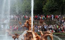 Las reservas garantizan los espectáculos de agua de las fuentes de La Granja