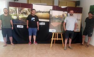 El concurso de pintura rápida llena de artistas Nava de la Asunción