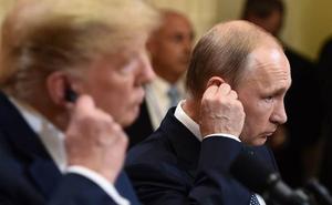 Trump quiere una segunda cumbre con Putin en Washington antes de fin de año