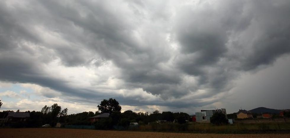 Las tormentas serán generalizadas este viernes en Castilla y León