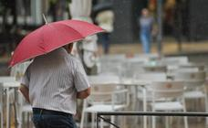 Tormenta veraniega en Valladolid