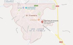 Un fallecido y cuatro heridos tras el vuelco de un todoterreno en un camino de El Tiemblo