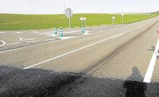 La Junta invertirá 1,9 millones para mejorar el tramo de la CL-612 entre Medina de Rioseco y Palencia