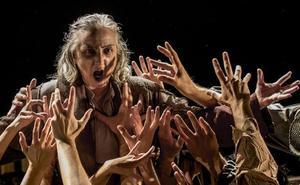 Atalaya estrena en Olmedo una reina Lear