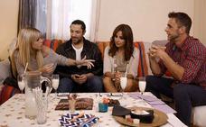 Rafael Amargo llama 'niñata' a Oriana Marzoli y abandona 'Ven a cenar conmigo'