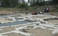 La excavación en Aguilafuente saca a la luz parte de un complejo residencial romano