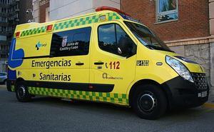 Herido un hombre de 84 años al volcar el turismo que conducía en Trescasas