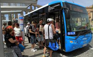 La UTE Globalia-La Sepulvedana vuelve a optar al contrato del transporte urbano