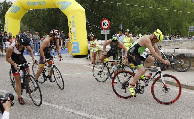 El circuito provincial de triatlones llega a Torquemada