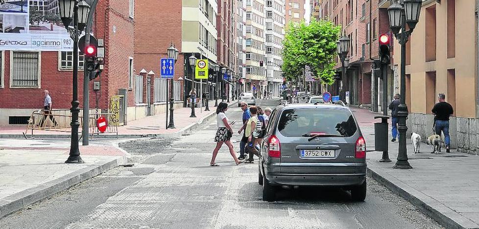 La reapertura de las calles San Quirce y Puente Mayor de Valladolid aliviará la circulación