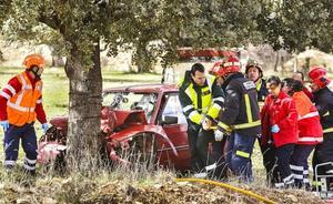 Las víctimas mortales en las carreteras salmantinas aumentaron un 50% en 2017