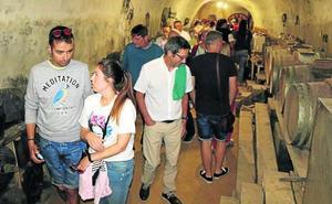 Cuevas y bodegas, al descubierto en Dueñas