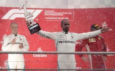 La victoria más imprevista de Lewis Hamilton