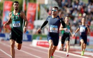 Óscar Husillos revalida el título nacional de 400 metros