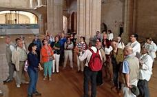 55 alumnos aprenden románico con la Fundación Santa María la Real