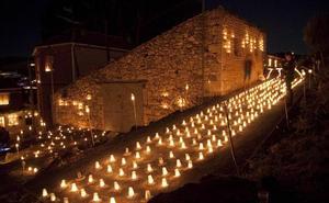 20.000 velas iluminarán Fuentidueña en la tercera Noche de Agua y Fuego