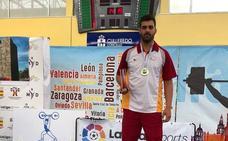 Juan Lama se proclama campeón de España de halterofilia en más de 105 kg