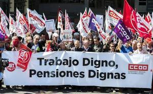 La pensión media se sitúa en Castilla y León en los 923,8 euros, por debajo de la media, a pesar de crecer un 2% en el ultimo año