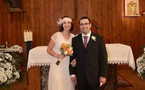 Pilar Vicente celebra su boda en el Pinar de Antequera de Valladolid