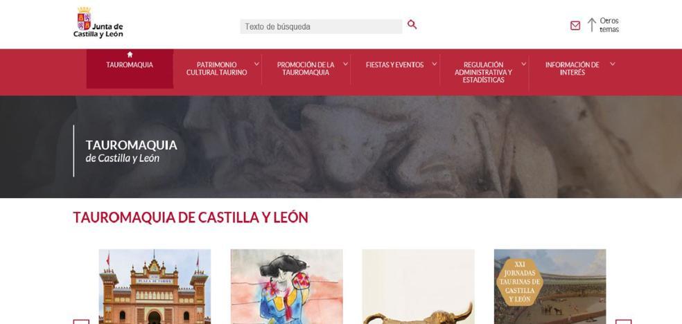 La Consejería de Cultura y Turismo publica el Portal de Tauromaquia de Castilla y León