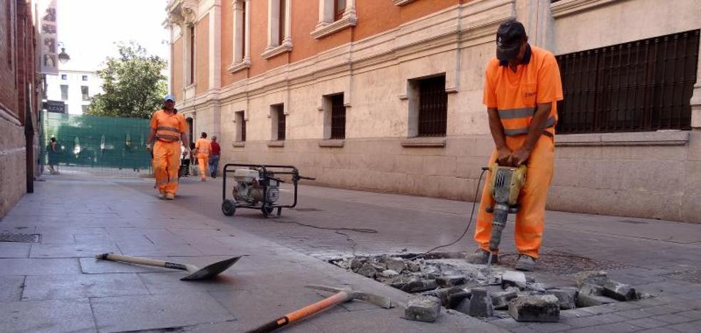 La salida del aparcamiento de la Plaza Mayor de Valladolid volverá a la calle Jesús el viernes