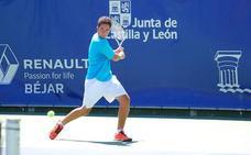 Arrancan los partidos de categoría absoluta masculina en el XVI Open de Tenis Ciudad de Béjar