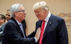 Europa lo fía todo al «killer» Juncker para evitar que Trump active su guerra comercial