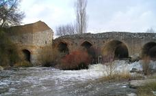 Cortado el paso por el puente de Martín Muñoz de las Posadas