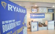 La huelga de Ryanair afecta a tres de los cuatro vuelos de Valladolid