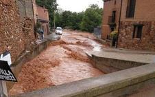 El PSOE reclama a la Junta ayudas para paliar los daños de la tormenta en Estebanvela
