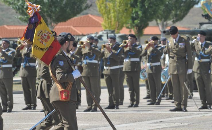 La base militar El Empecinado de Santovenia celebra la festividad de Santiago Apóstol