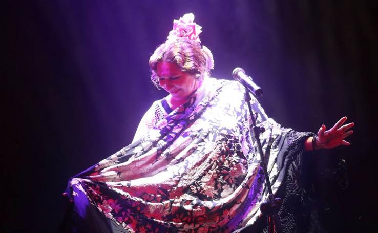 Actuación de la cantaora Estrella Morente en el Estival UVa 2018