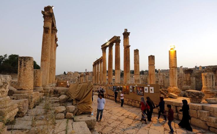 Jerash, un tesoro romano en Jordania