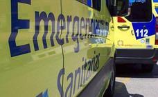 Una colisión entre dos turismos causa tres heridos en la N-630 en Carbajal de la Legua