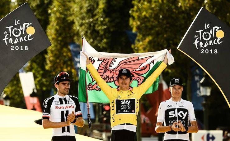 Geraint Thomas conquista el Tour