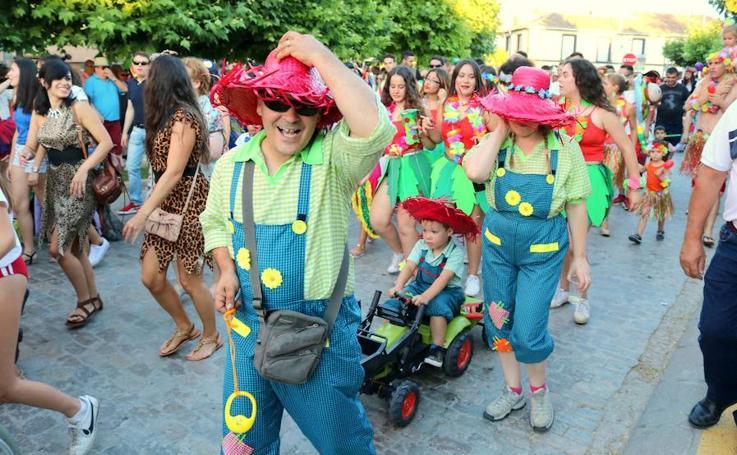 Carnaval de verano en Dueñas