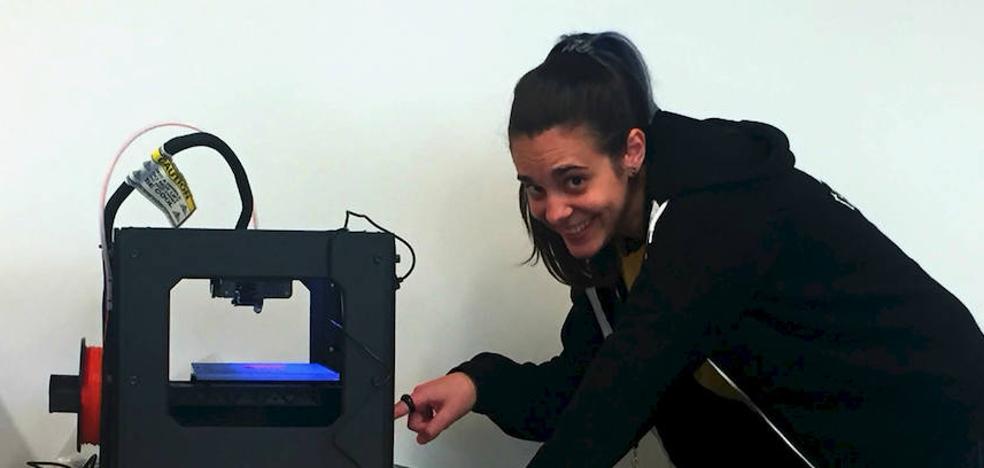 Irene Villafañe, ingeniera vallisoletana: «Tenemos una impresora 3D 'hipster', no necesita enchufe ni Internet»