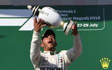 Hamilton se va de vacaciones más líder que nunca