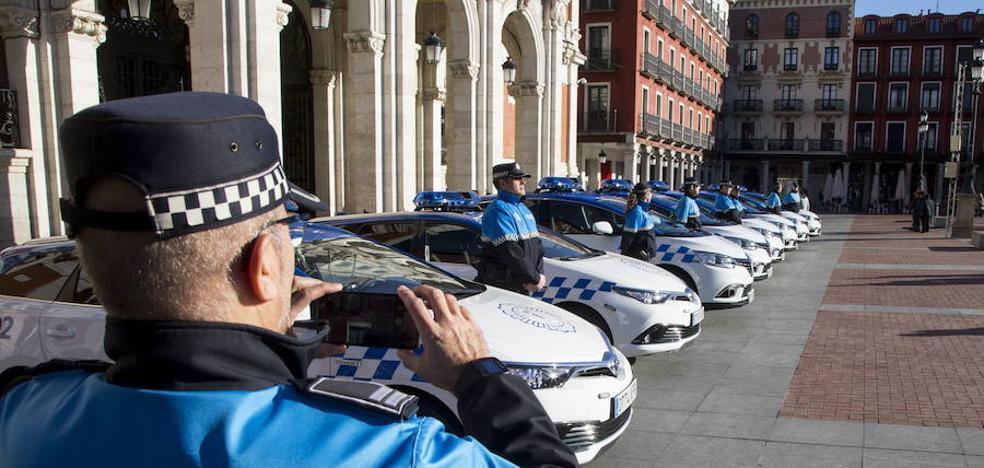 El 71% de los 647 vehículos que declara el Ayuntamiento de Valladolid tienen más de 10 años