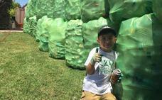 Ryan Hickman, el niño de 8 años que tiene una empresa de reciclaje
